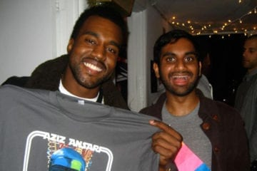 Aziz Ansari shares story about Kanye West playing 'My Beautiful Dark Twisted Fantasy' for a delivery guy before its release