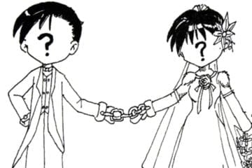 Why are arranged marriages so prevalent within the Asian culture?