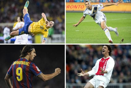 Best Zlatan Goals: Ibrahimovic scores his 500th career goal – here are 10 of his finest strikes
