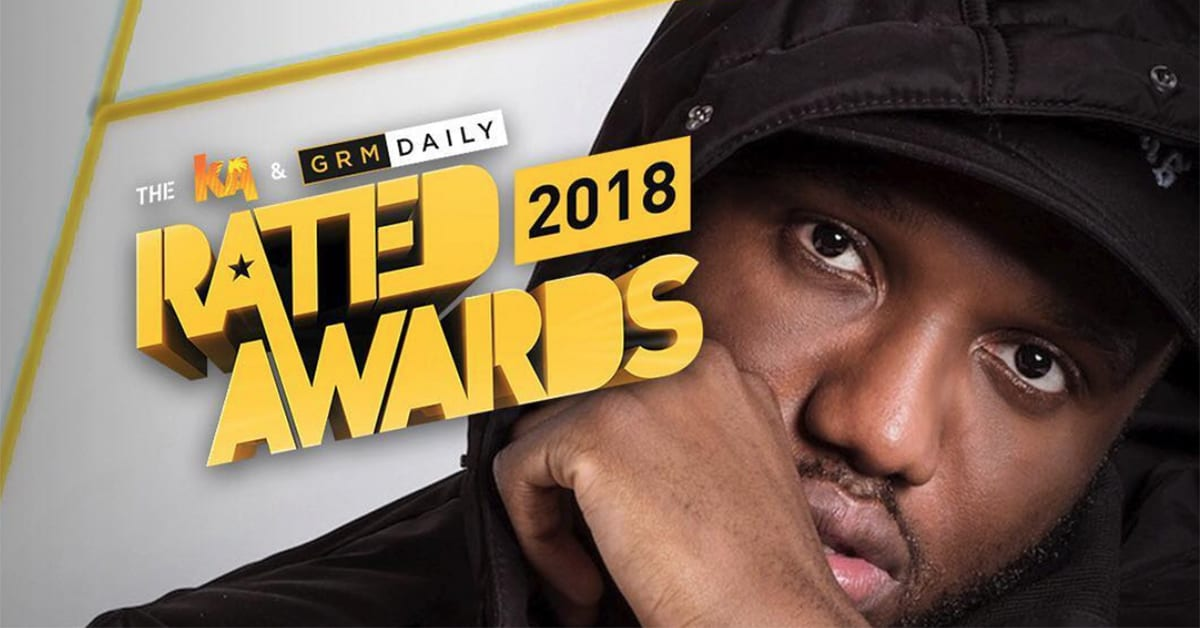 rated award winners rated awards 2018 headie one rated award