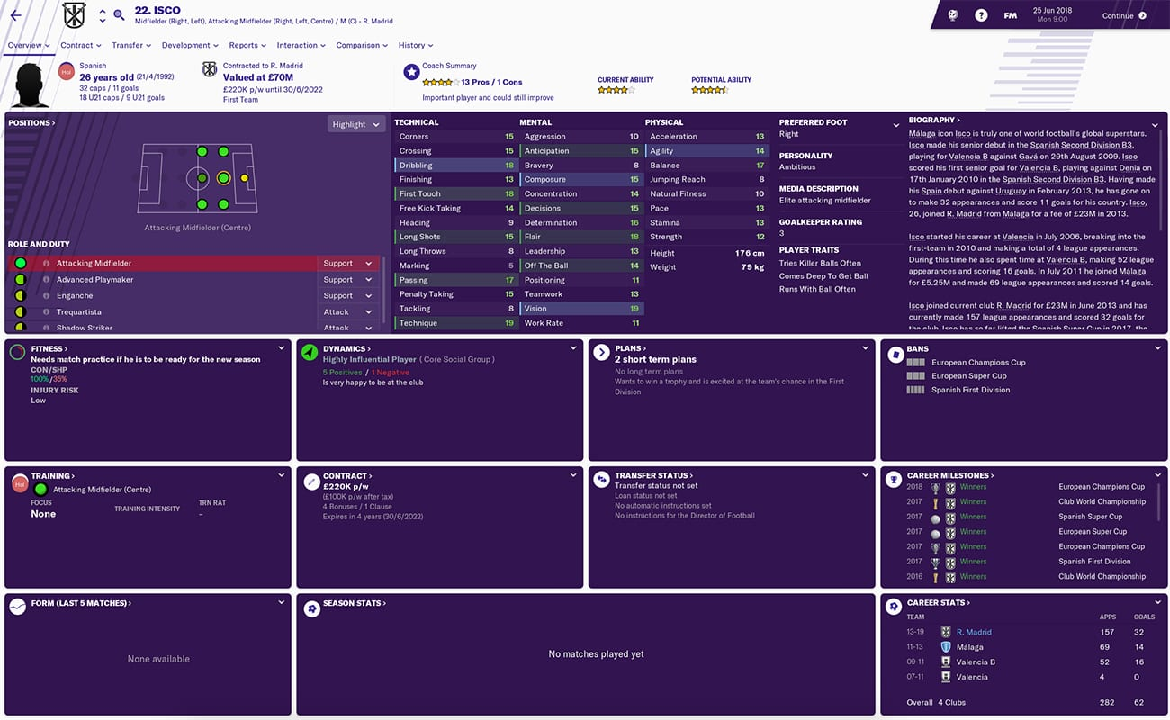football manager 2019 real madrid fm19 real madrid football manager 2019 gareth bale