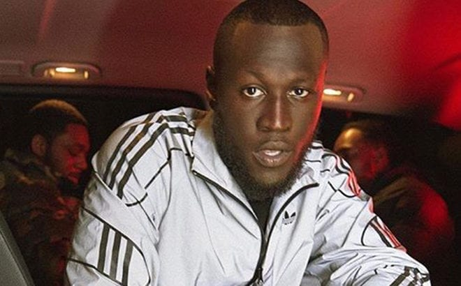 b16a50fb4ae8 Stormzy collaborates with Adidas Originals to release his own custom  tracksuit range