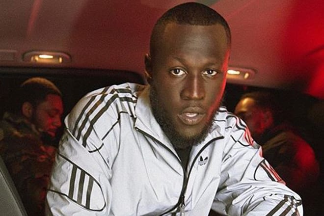 Stormzy collaborates with Adidas Originals to release his own custom  tracksuit range e296c9e60d5