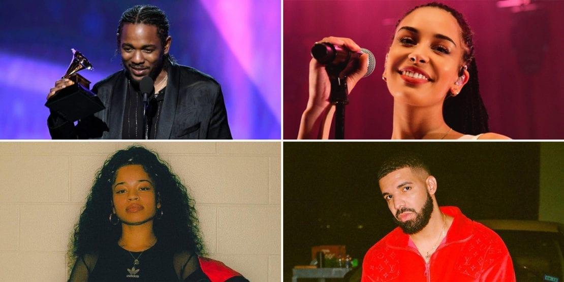 2019 Grammy Nominations: Kendrick Lamar, Drake, Cardi B, Ella Mai and Jorja Smith up for awards + full list of nominees