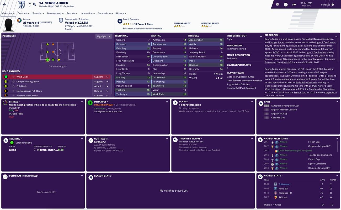 football manager 2019 tottenham fm19 tottenham football manager harry kane football manager 2019 spurs
