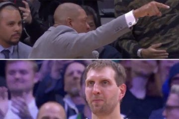 Doc Rivers stops game to pay tribute to NBA legend Dirk Nowitzki as Dallas Mavericks icon plays final game at Staples Centre