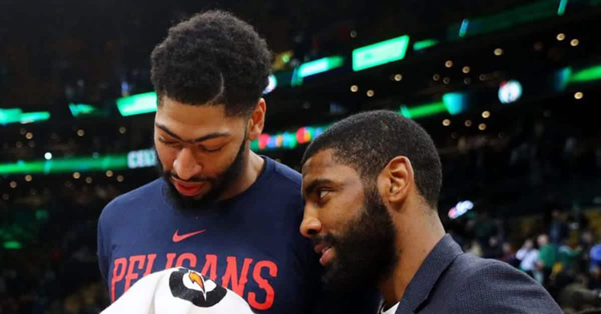 The Celtics could sign Anthony Davis and Kyrie Irving this summer